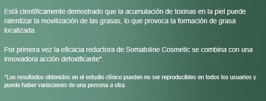 somatoline detox barato