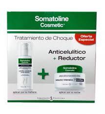 KIT Tratamiento de chco anticelulitico y reductor somatoline
